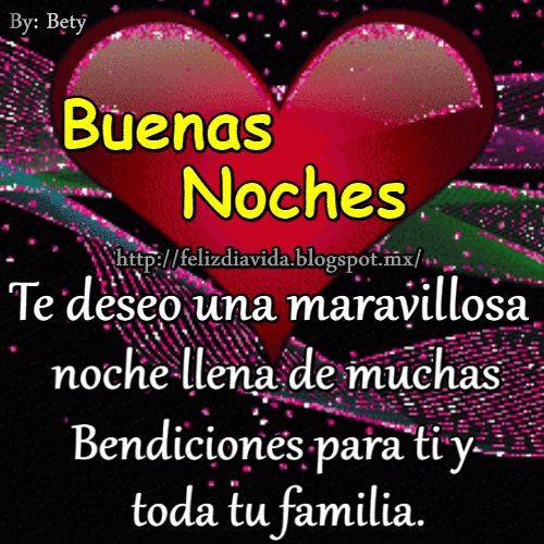 Buenas noches te deseo una maravillosa noche llena de muchas Bendiciones para ti y tu familia