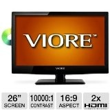 "Viore 26"" Class LED HDTV/DVD Combo (Electronics)  #1080p"
