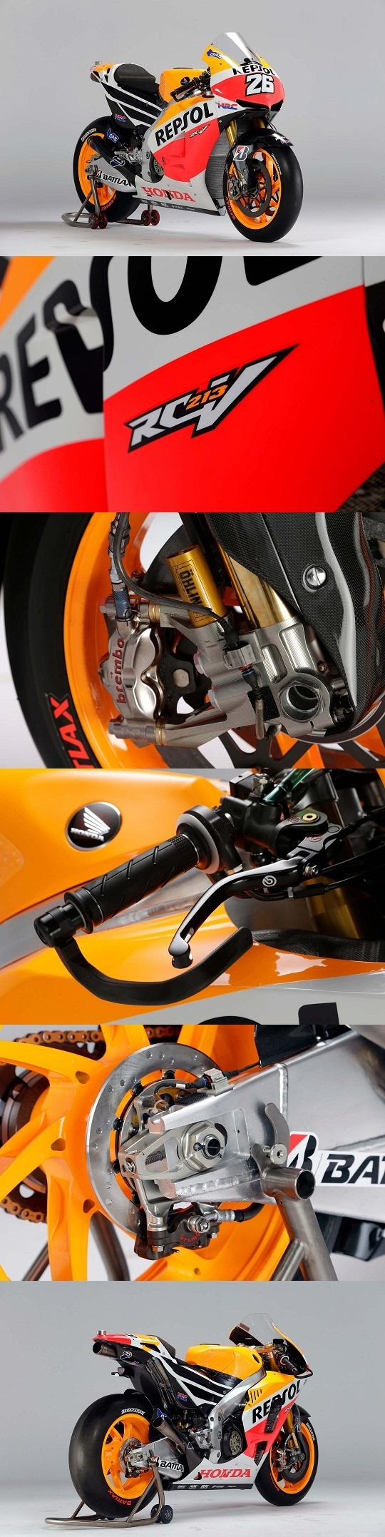 2013 Honda Repsol...Engineering at the highest level.