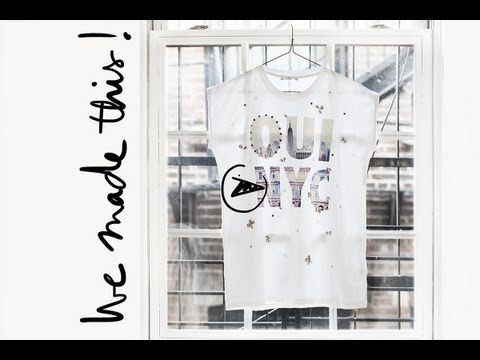 DIY: The Embellished Tee / Garance Doré: Pardon My French