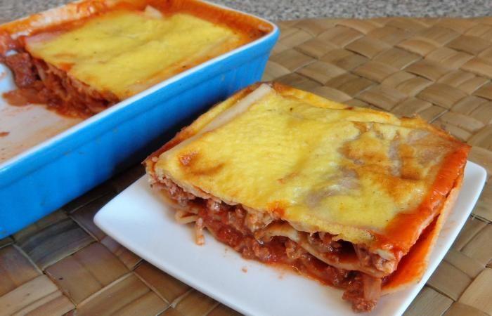 Régime Dukan (recette minceur) : Lasagnes à la bolognaise faciles et protéinées #dukan http://www.dukanaute.com/recette-lasagnes-a-la-bolognaise-faciles-et-proteinees-11214.html