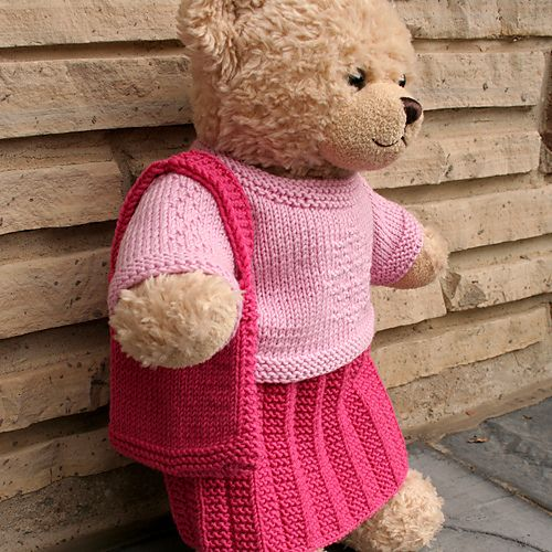 Knitted Teddy Bear Pattern Ravelry : 17 Best images about Teddy Bear Clothes on Pinterest ...