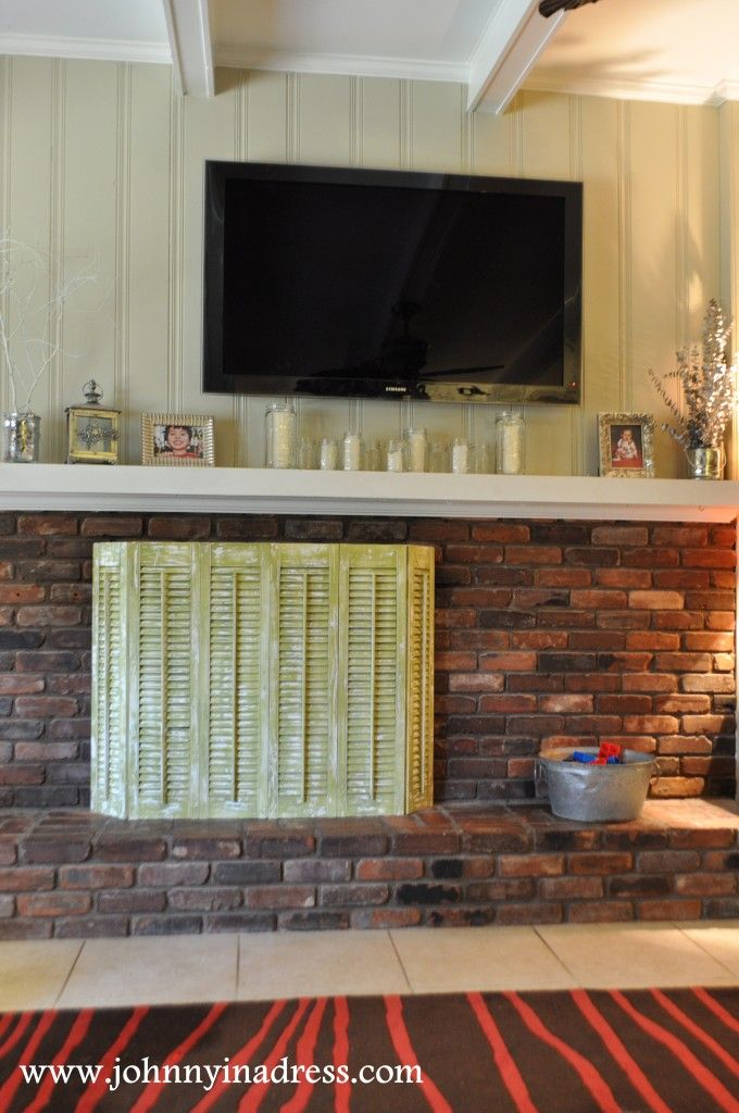 11 best diy fireplace screens images on Pinterest | Fireplace ...