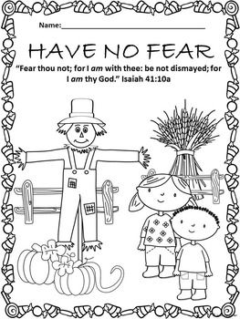 Halloween Bible Lessons for October, Complete Unit