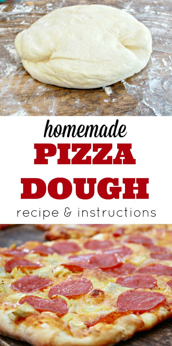 homemade pizza dough dough recipe easy pizza and pizza on 31045