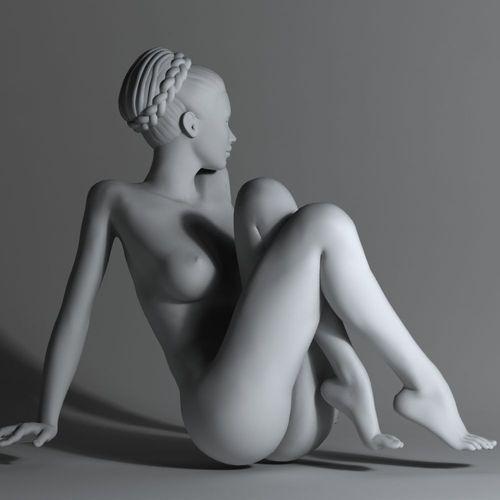 Картинки по запросу 3D print model naked women