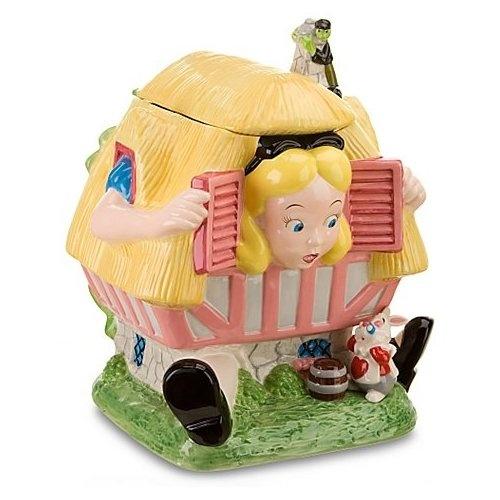 Disney Store Larger-than-Life Alice in Wonderland Cookie Jar