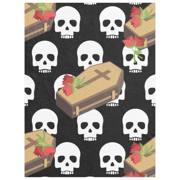 Skull Coffin Emojis Blanket Get Your Happy On Its Halloween Season Giftsforher Giftsforhim Halloween Sp Emoji Birthday Party Emoji Birthday Emoji Diy