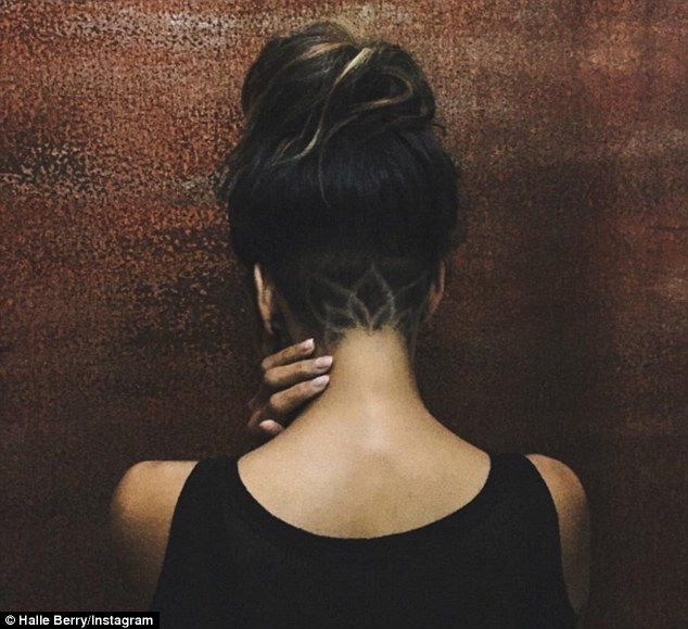 Want To Copy Halle Berry S Undercut Tattoo Here S What To