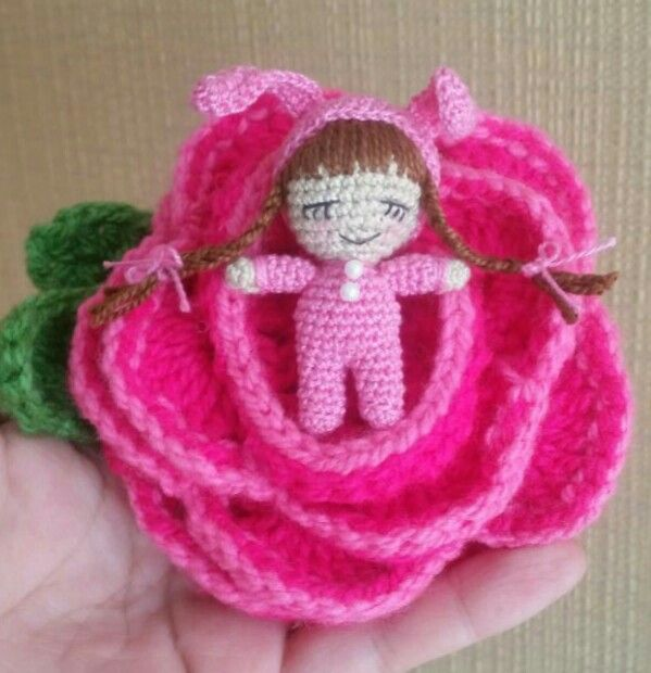 Amigurumi Flower Doll : 1000+ images about Little Gumi on Pinterest Amigurumi ...