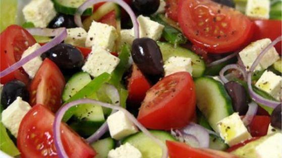 Калорийность греческий салат