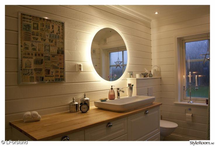 Bildresultat för badrumsspegel med led belysning