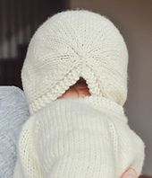 Ravelry: Small Things #Knit #Bonnet #pattern by Carina Spencer