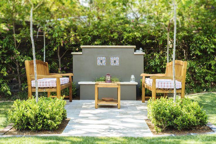 Amber Tiles Kellyville: Premium Classic Travertine #travertine #courtyard #ambertiles #ambertileskellyville #naturalstone