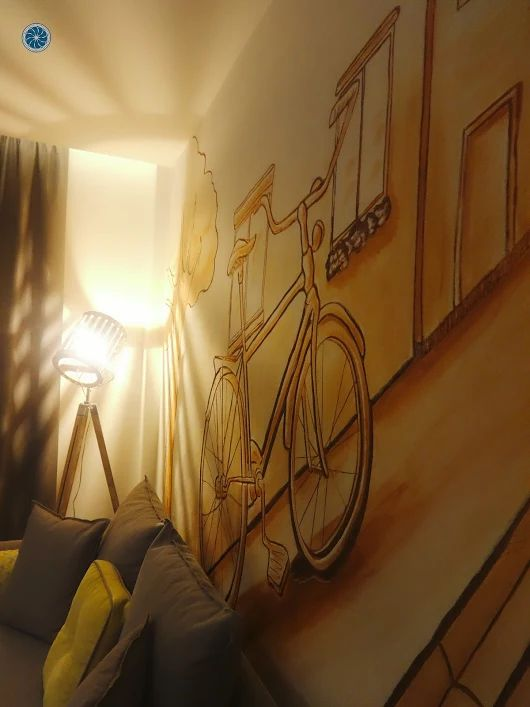 #Handmade Engraved Wall in the room #Aspalathos  Discover every detail of #Elakati and live the #elakatiexperience  #Rhodes #Greece #travel http://www.elakati.com/