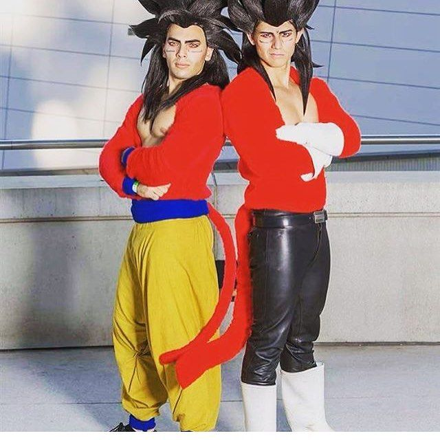 @cugis_world and @castlecosplay in their amazing Super Saiyan 4 Goku and Vegeta cosplays #Goku #Vegeta #supersaiyan4 #dbz #dragonballz #cosplay #cosPlayer #cosplayisforeveryone #legendary #comics #instalike #epic #wow #follow #cool #galacticgamer
