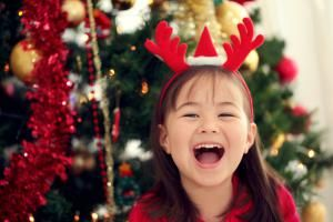 Christmas Party Games Just for the Kids: Pin the Red Nose on Rudolph