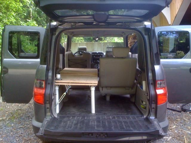 foldable sleeping platform honda element owners club forum campervan pinterest honda