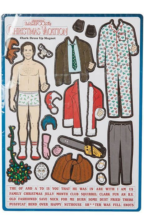 Clark Griswold Christmas Vacation Magnet Set                                                                                                                                                                                 More