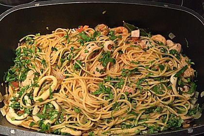 Spaghetti Frutti di Mare, ein tolles Rezept aus der Kategorie Krustentier & Muscheln. Bewertungen: 93. Durchschnitt: Ø 4,3.