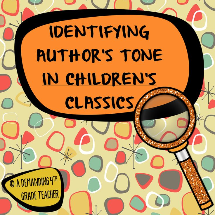 This is a collection of 12 excerpt from famous children's classics. The students are to identify the author's tone in the passages and to underline the key words that convey the author's tone. Included is also an assessment sheet. Perfect activity for close reading/guided reading groups.$
