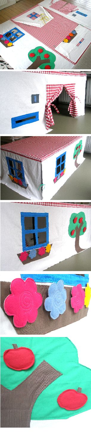 Play tent - table tent