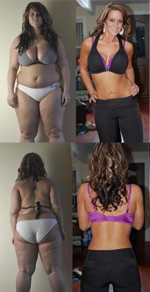 This is Jessica, and she lost 120 pounds. So incredible.