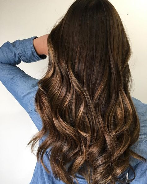 Brown hair Color With Highlights for fall,fall hair colors