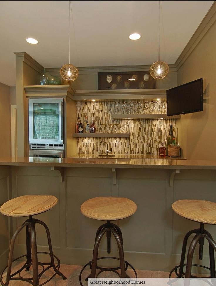 Wet bar idea home ideas pinterest wet bars ideas wet bars and bar - Pinterest basement ideas ...
