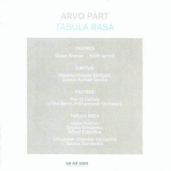 Arvo Pärt: Tabula Rasa Various Artists