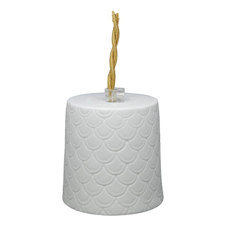 Baladeuse en porcelaine Neptune, D8,5 cm cordon 3 m-product