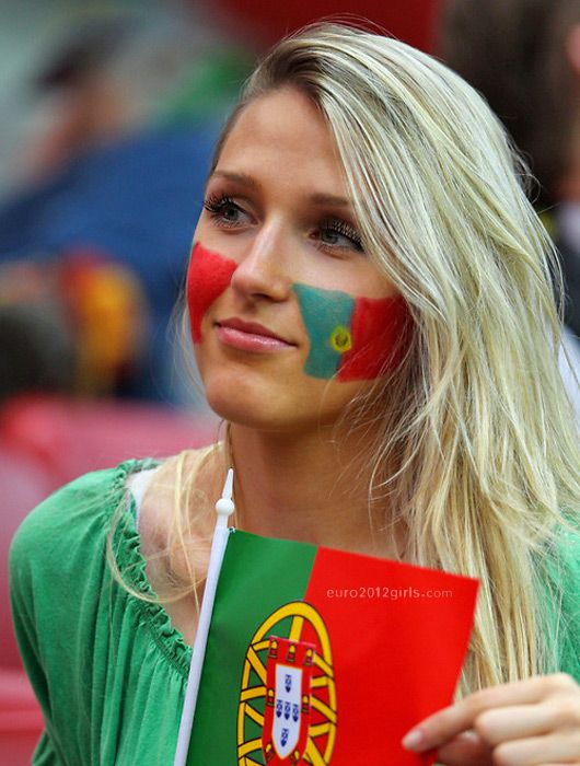 Beautiful Portugal Fan #WorldCup #Beautiful #Portugal