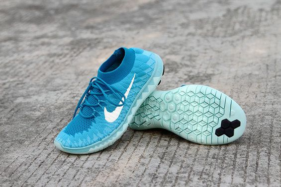 best sneakers b4712 419a6 Chaussures de mode WMNS Nike Free 3.0 Flyknit Chlorine Blue Photo Blue White