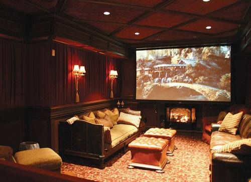 media home theater design ideas - Home Theater Design Ideas