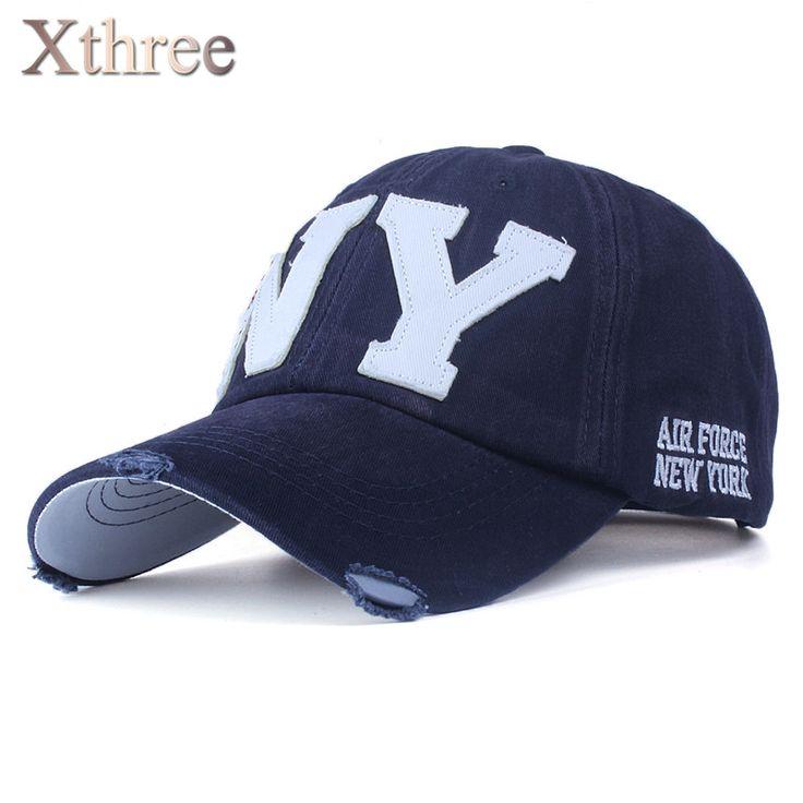 [Xthree] unisex fashion cotton baseball cap snapback hat for men women sun hat bone gorras ny embroidery spring cap wholesale #women, #men, #hats, #watches, #belts
