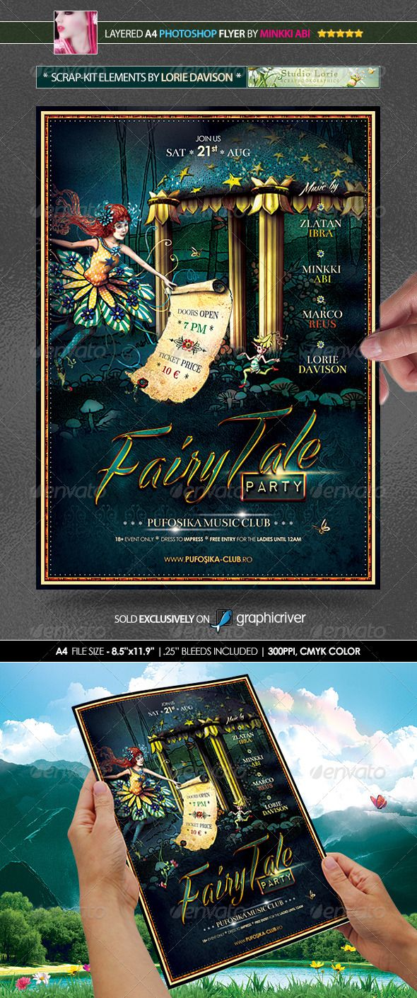 Fairytale Halloween Poster/Flyer