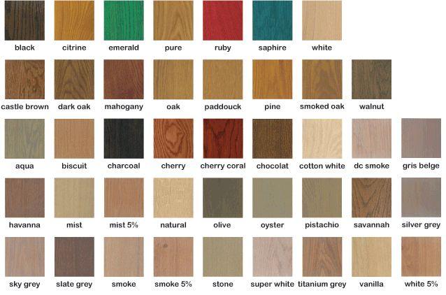 Rubio monocoat palette