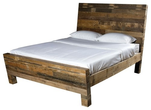 products reclaimed wood bed frame