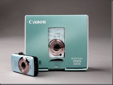 funny kreativní gadget pohodě koncept miniaturní Canon IXUS USB flash disk (2)