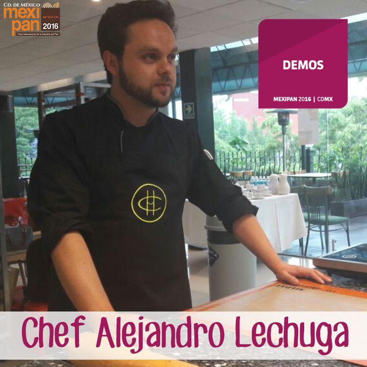 "Demostración en vivo del Chef Alejandro Lechuga ""Azúcar Artístico"" en Mexipan 2016. #Mexipan2016 #expo #pan #feria  #panadería #repostería #gourmet #bakery"