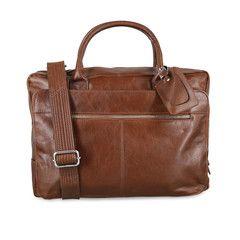 Business Bag aus Leder