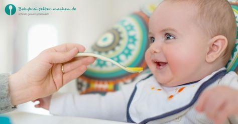 Bereits ab 10 Monaten beginnen die ersten Babys mit der Familienkost: Rezepte f…