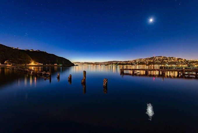 Wellington Harbour from Shelley Bay, New Zealand
