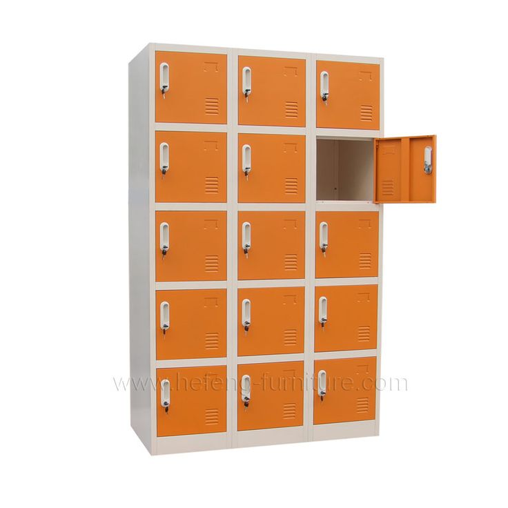 15 door metal athletic lockers    supplied by hefeng-furniture.com are ideal for school,office employee,military and government agency.Factory Direct,huge selection.