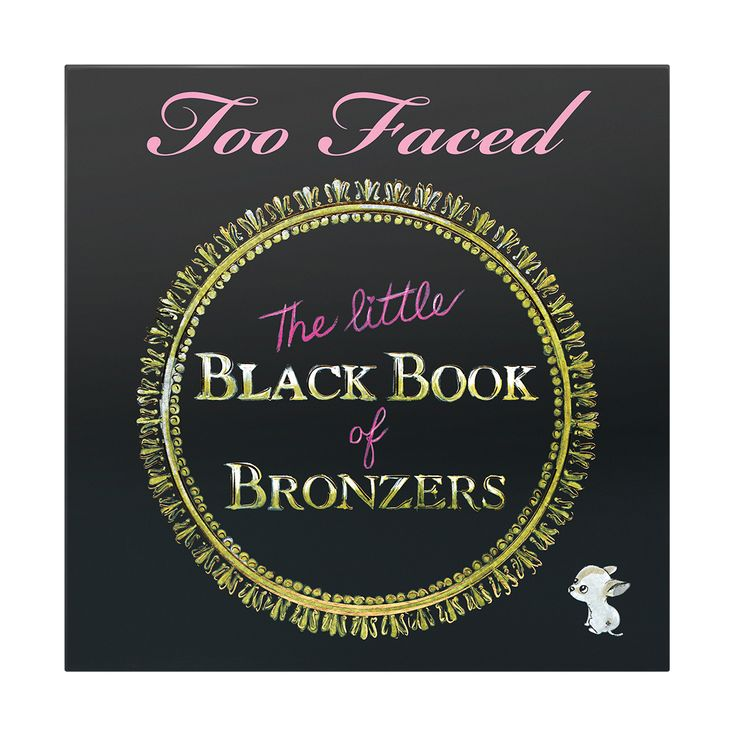 NEW! (Petite) Little Black Book of Bronzers - Too Faced $49.00 Beautiful bronzing assortment all featuring the signature Too Faced Cocoa Powder! Includes the NEW Dark Chocolate Soleil, Milk Chocolate Soleil, Snow Bunny, Pink Leopard, Beach Bunny, Endless Summer, & Sun Bunny!!