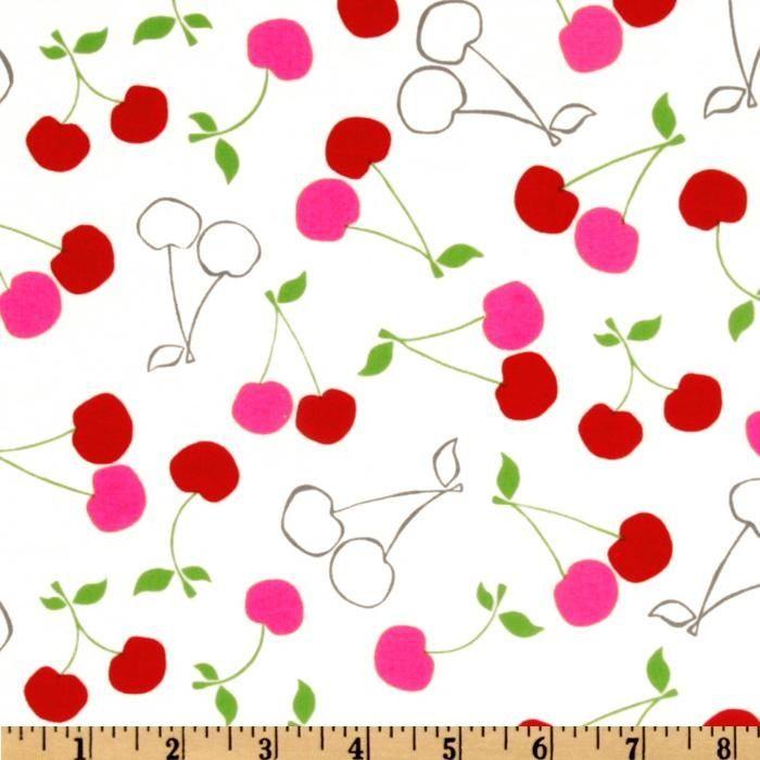 Cute Cherries | Cute cherry fabric | pattern_03