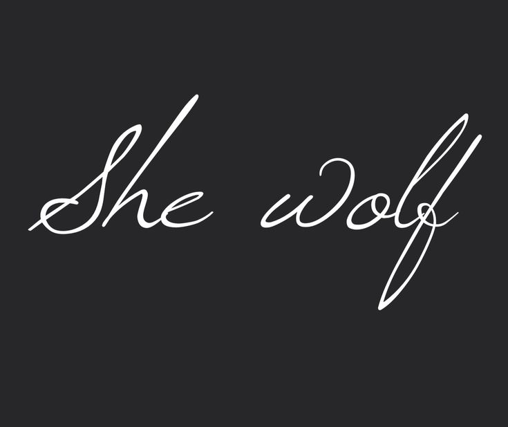 She wolf                                                                                                                                                                                 More