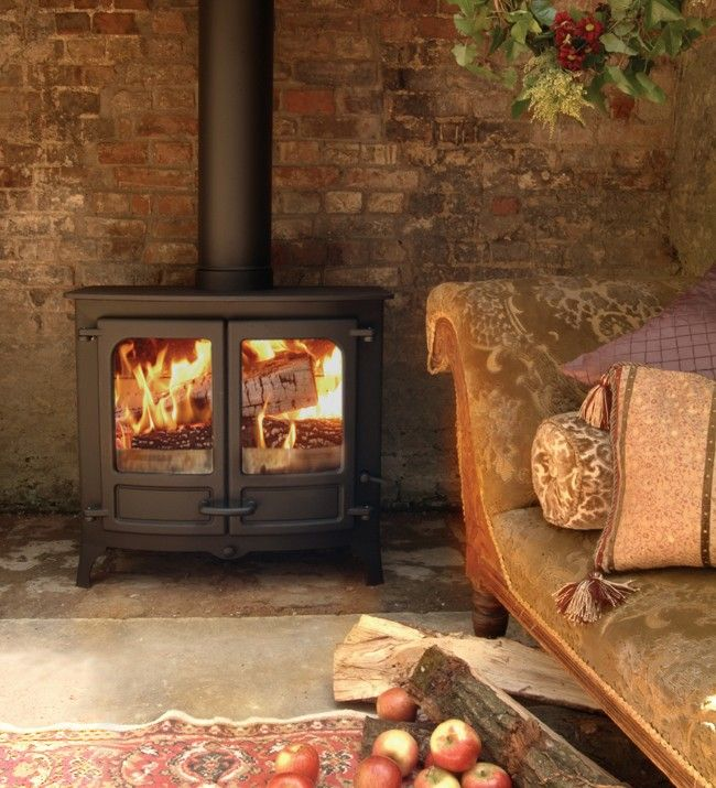 £2,508.00 Charnwood Island IIIb Multi Fuel Boiler Stove #Britishmade #woodburingstove #readyforwinter #charnwoodstoves #Britishbuilt #woodburners #contemporarystove #defrastove #doubledoorstove #boilerstove