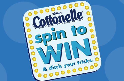Say good-bye to your flimsy toilet paper tricks and hello to Cottonelle! Take a spin, ditch your tricks and you could win a $5000 Bathroom Remodel! There a