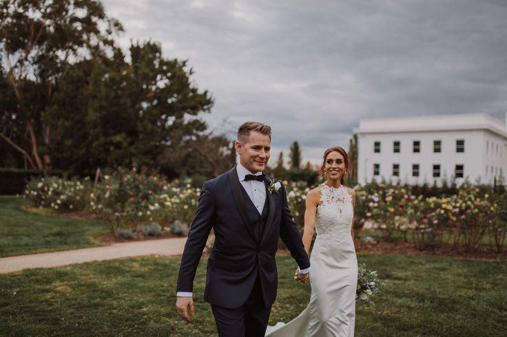 Old Parliament House Wedding   Senate Rose Gardens   Canberra Wedding Photographer